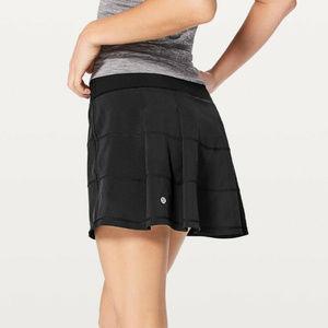 Lululemon M 10 Black Pace Rival Skirt Skort